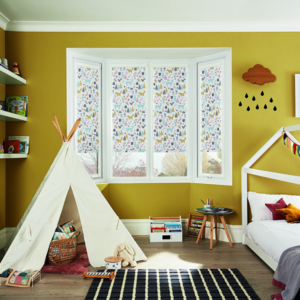 Woodland perfect fit roller blind