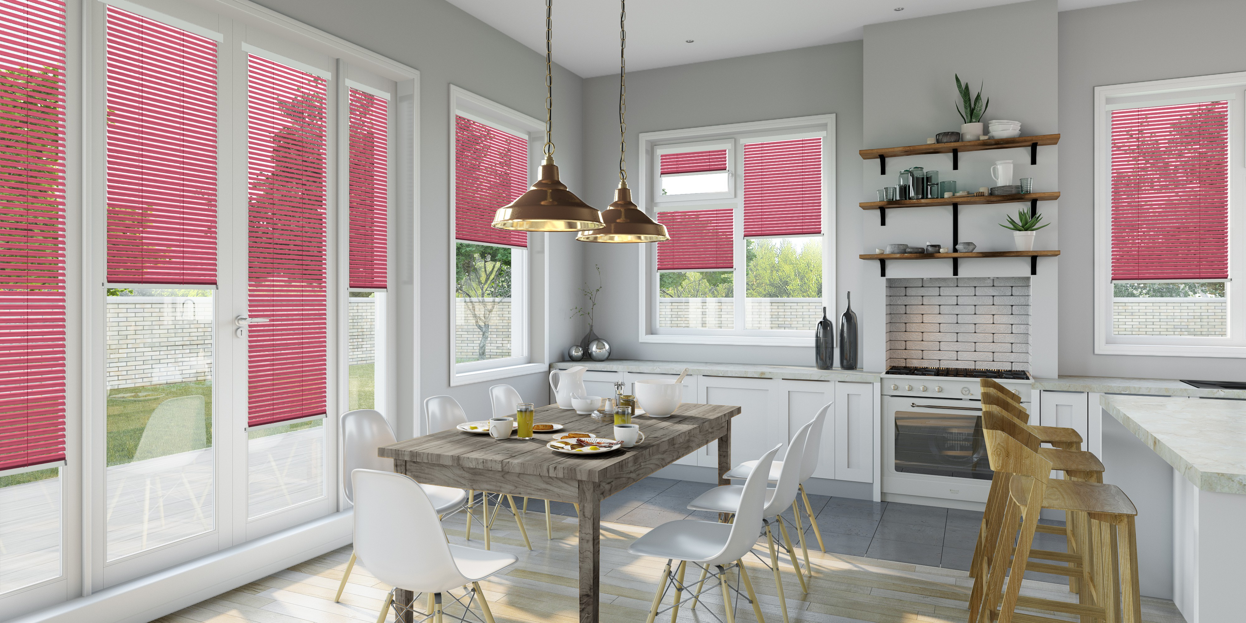 intu venetian conservatory blinds by Direct Order blinds