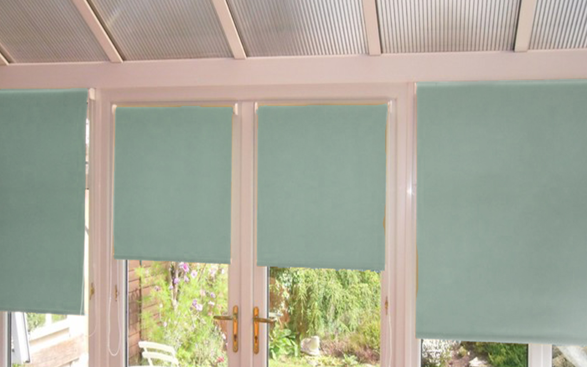 conservatory roller blinds by Direct Order blinds