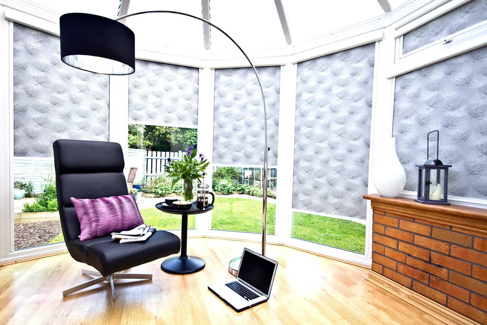 Intu roller conservatory blinds by Direct Order blinds