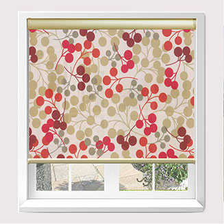 Slow Rise Spring Senses Cassette Roller Blinds