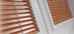 Perfect Fit wood venetian blinds buy online