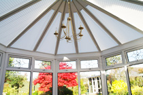 Perfect fit conservatory roof blinds