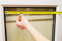 How to measure perfect fit blinds