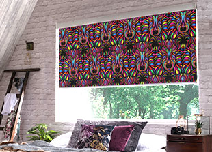Senses Slow Rise Roller blinds, 7 cassette colours